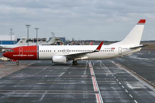 Norwegian, LN-NII, Boeing 737-8JP | by Anna Zvereva