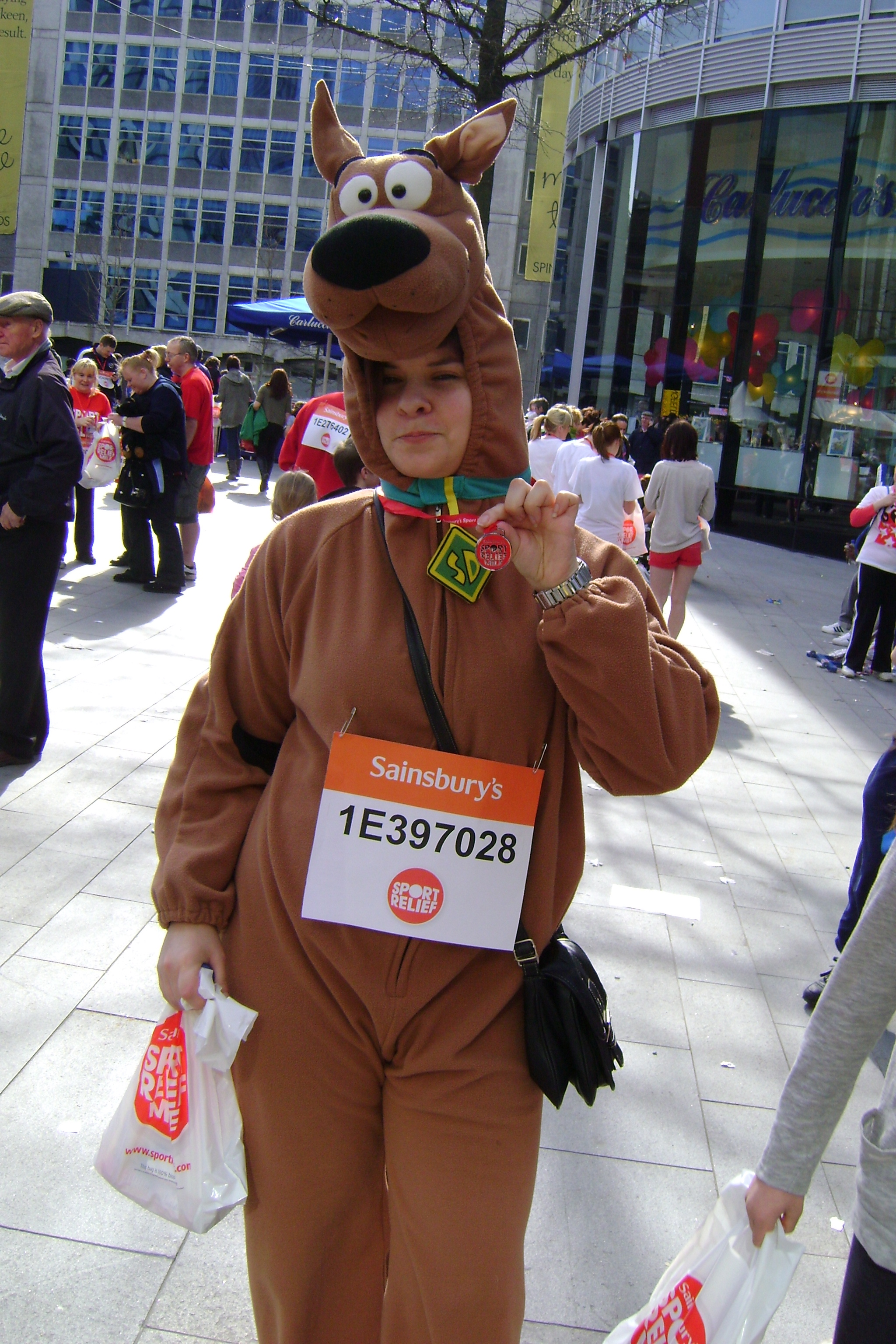Sports Relief 2012: I did the Mile Run!