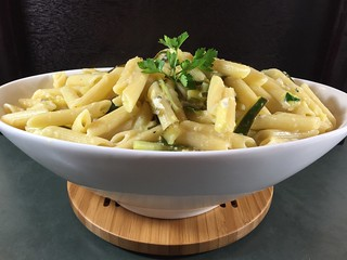 penne with zucchini and lemon | by Husbands That Cook