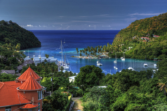 Marigot Bay, St. Lucia by Danny Buxton