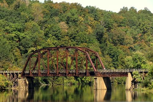 sycamorecreekrailroadbridge ashlandcity tn tennessee cheathamcounty 1901 bridge tennesseecentral railroadbridge pedestrianbridge railstotrails cumberlandriverbicentennialtrail sycamorecreek bmok