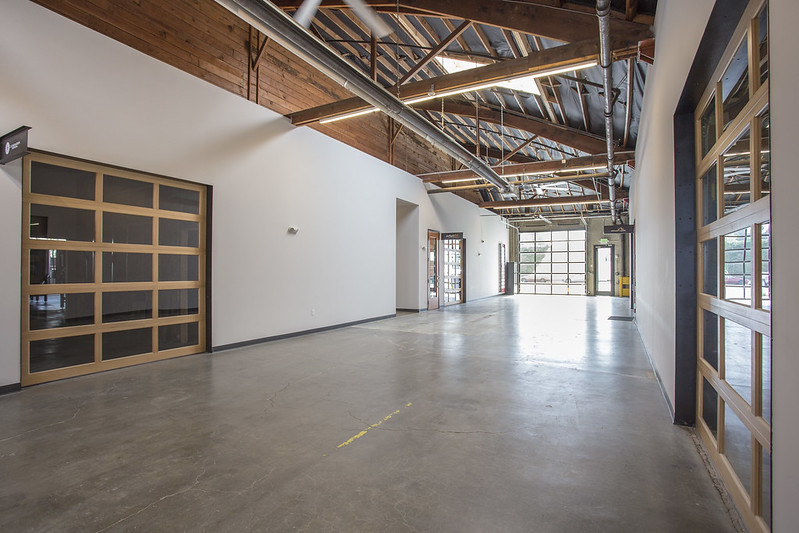 Atrium at new Bindery Annex