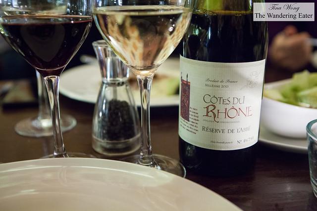 Côtes du Rhone Reserve De L'Abbe AOC 2013