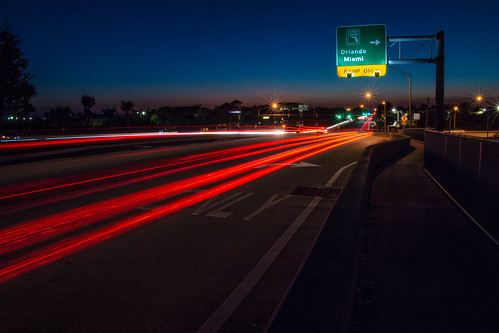 road longexposure light sunset streets beach canon eos lights orlando twilight highway long exposure florida miami palm turnpike pga blvd palmbeachgardens 70d soflo canon70d