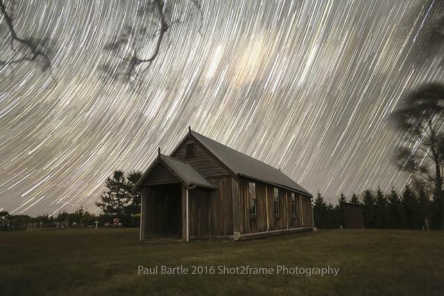 St Matthews Star Trail - The Oaks NSW