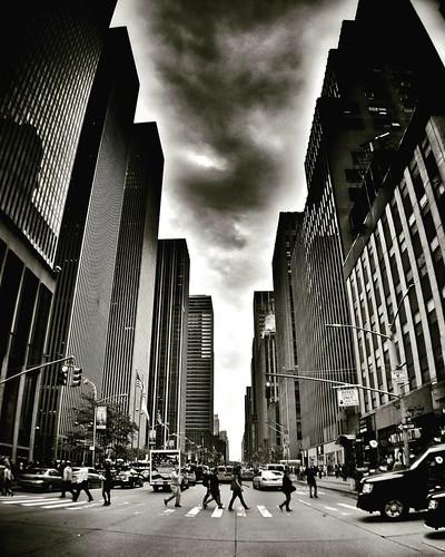 Crossing Street  #Newyork #Nyc #newyorkcity #newyorkcitylife #manhattan #Travel #travelgram #trip #sky #cloudporn #skyline #blackandwhite #bw ##Photo #Photography #people #black #Day #iloveny #ilovenyc #newyorkphoto #instacool #instanewyork #mynyc #bigapp | by Mario De Carli