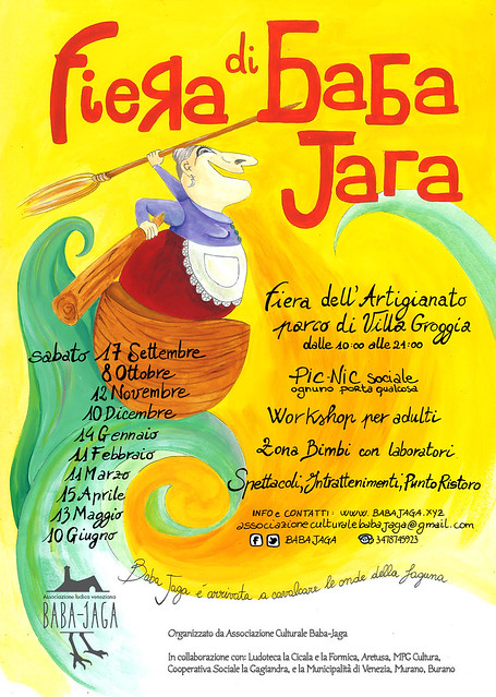 FIERA di BABA JAGA - Locandina