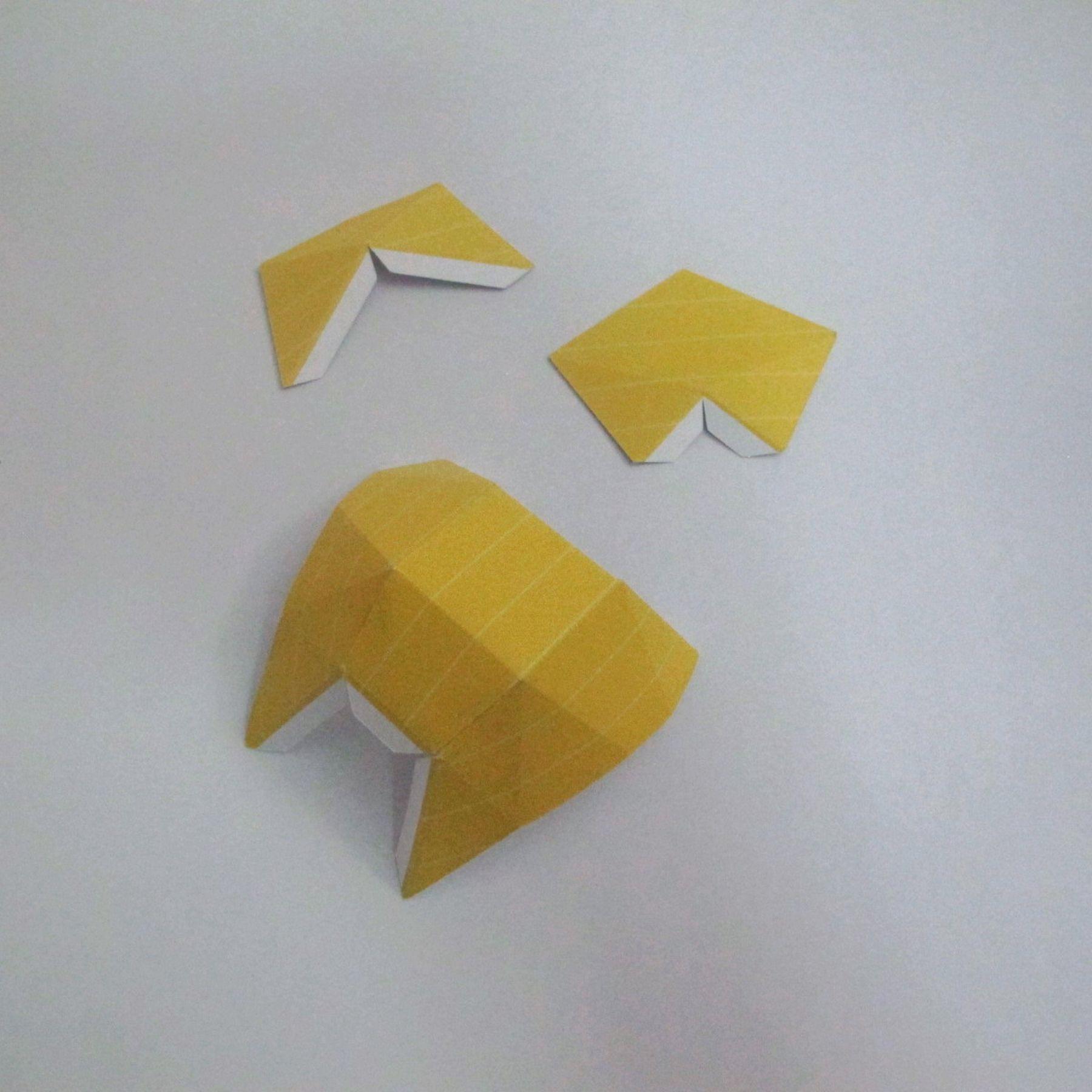 วิธีทำของเล่นโมเดลกระดาษ วูฟเวอรีน (Chibi Wolverine Papercraft Model) 007