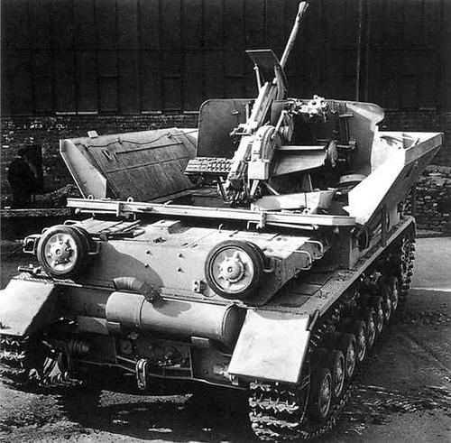 Flakpanzerkampfwagen IV Möbelwagen