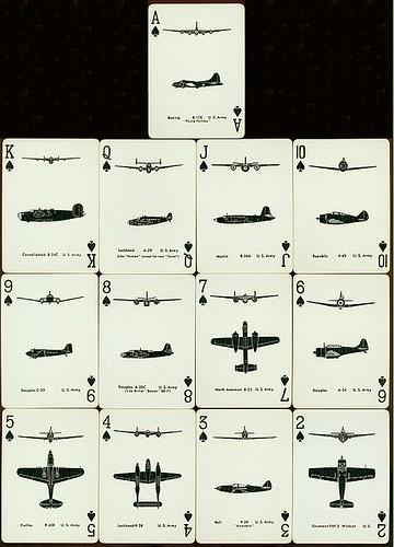 Spotter Cards Aviones americanos