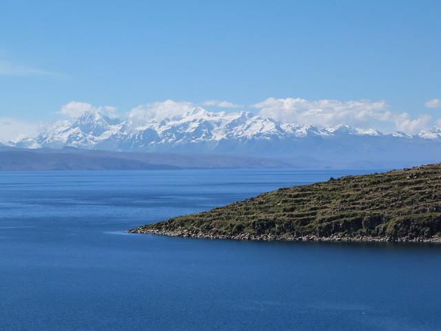 Lago Titicaca (vista desde Bolivia)