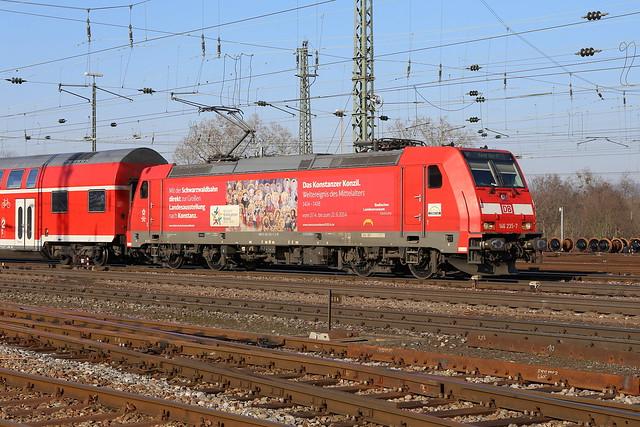 DB Regio 146 235-7 Konstanzer Konzil, RE Basel Bad Bhf