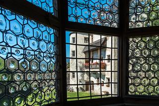 Fenster im Schloss Velthurns
