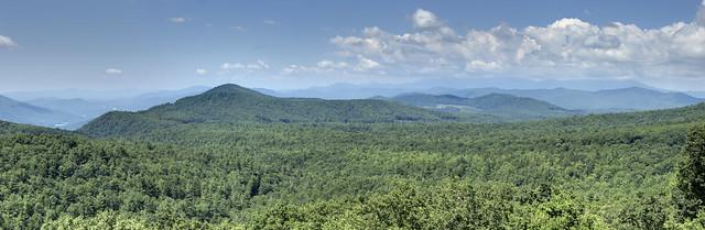 Bear Den Overlook, Blue Ridge Parkway, McDowell County, North Carolina
