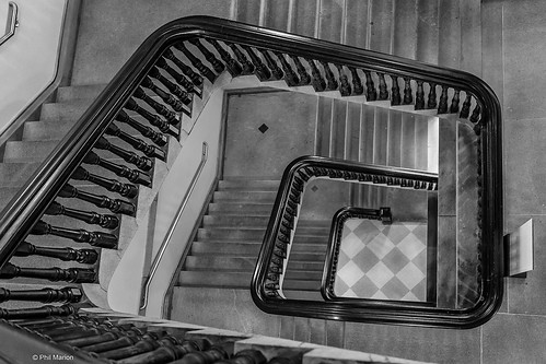 Staircase in National Portrait Gallery - Washington DC | by Phil Marion (177 million views - THANKS)