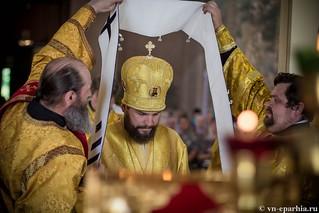 Литургия в Ильинском соборе 370