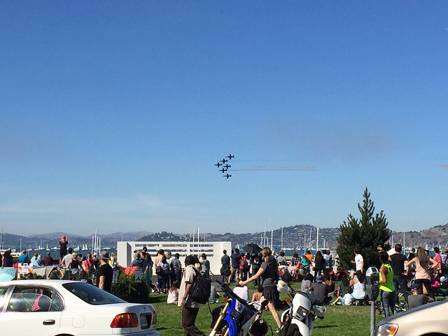 Patriots Jet Team, San Francisco