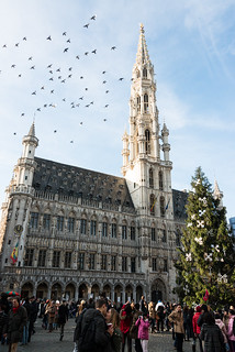 A kiss in The Grand Place | by Keith_Prefect