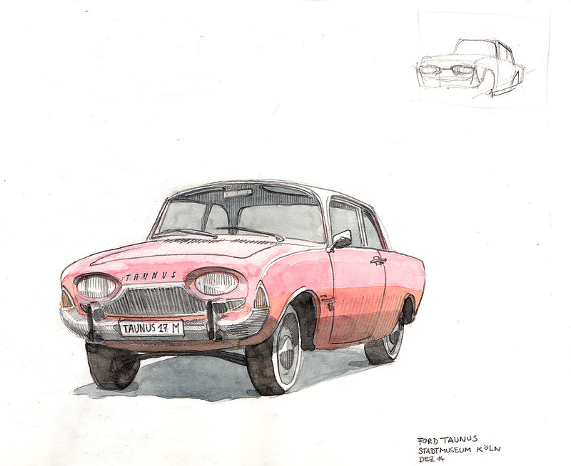 """Ford Taunus P3 17 M (1960–64) """"Badewanne"""""""