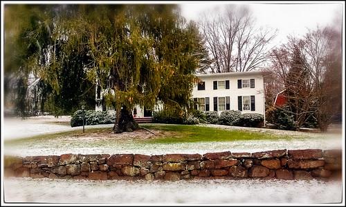 Snowfall in Meriden, CT on Dec. 11, 2014   by Pentax K-x Connecticut Man