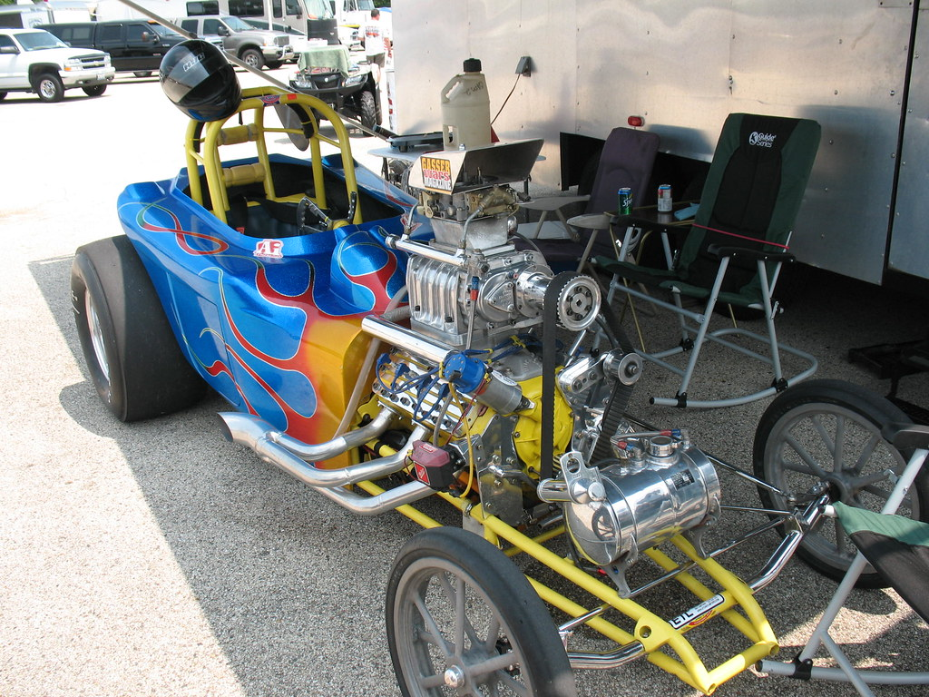 Another Flathead Powered Dragster | Photographed at the Melt… | Flickr