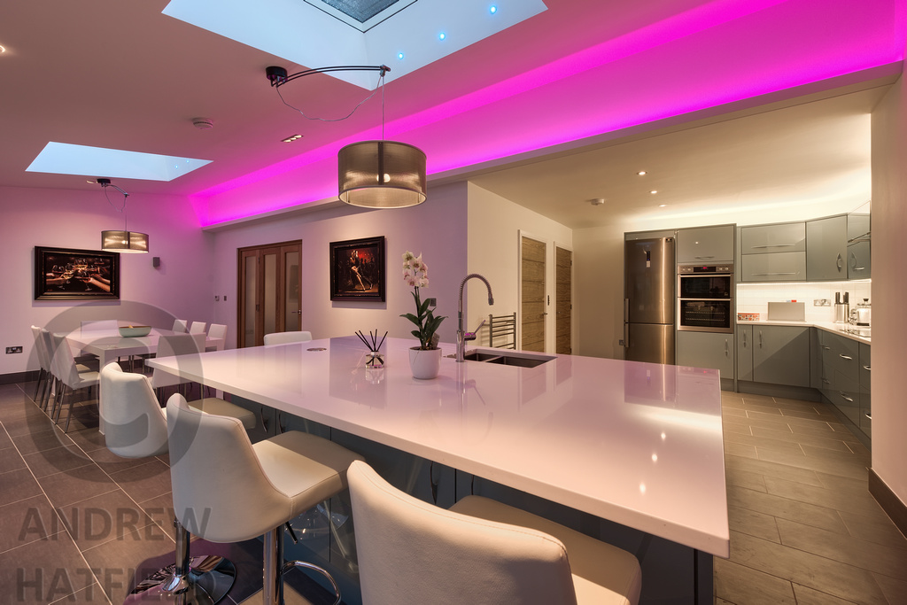 low priced 5ca35 03f2f Mood Lighting, Kitchen Space, Cambridgesire | Interior photo ...