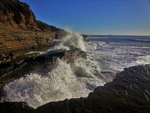 california seascape geotagged san rocks waves samsung wave diego tidepools cabrillonationalmonument samsunggalaxys3