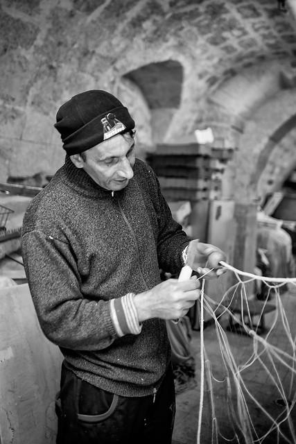Trani - Puglia - Italia --- Fisherman