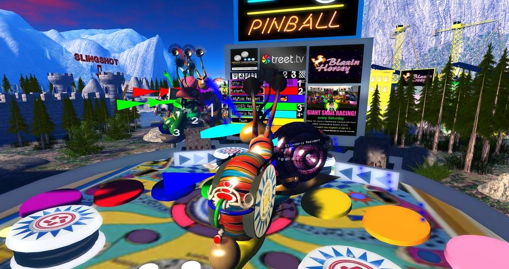 Pinball Snail Race | Wildstar Beaumont | Flickr