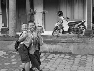 Happy at the lens   by Ya, saya inBaliTimur