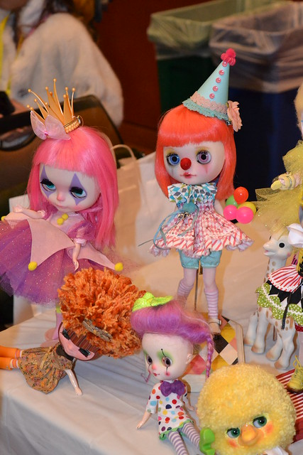 Clowning Around at Blythecon SF