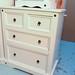 Corona white 2+2 chest of drawers
