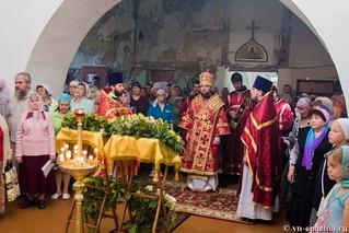 Литургия в храме Целителя Пантелеимона 120