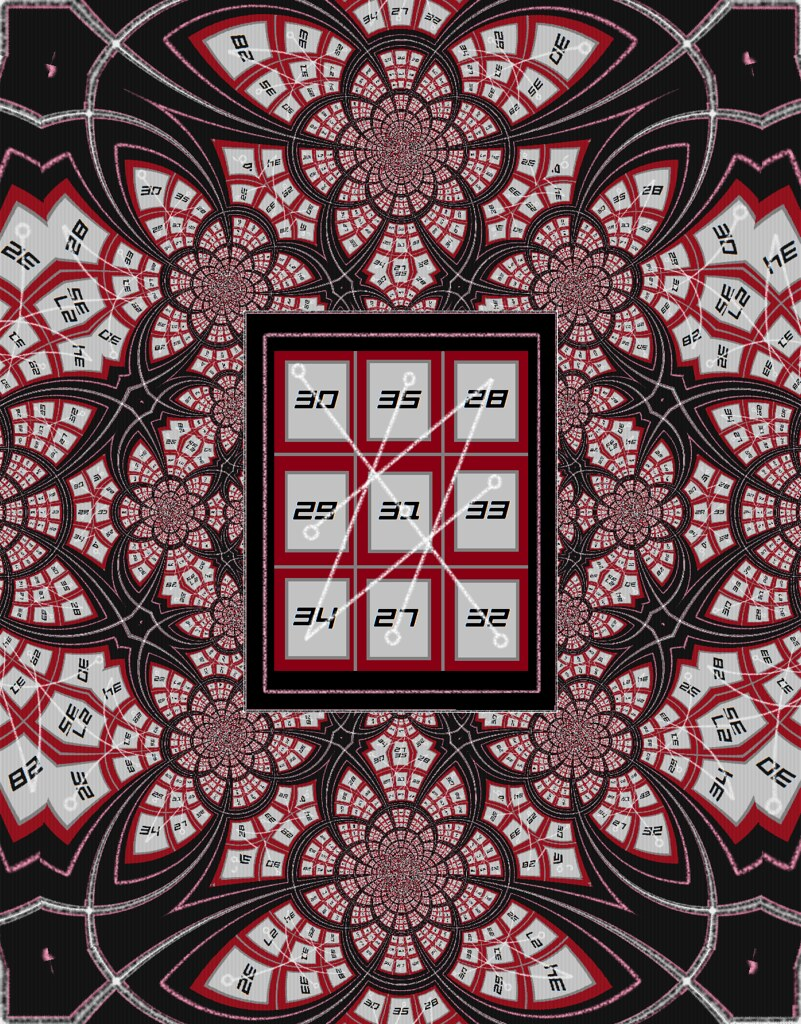 Thelemic Magic Square | The personal Qabalah I chose to test… | Flickr