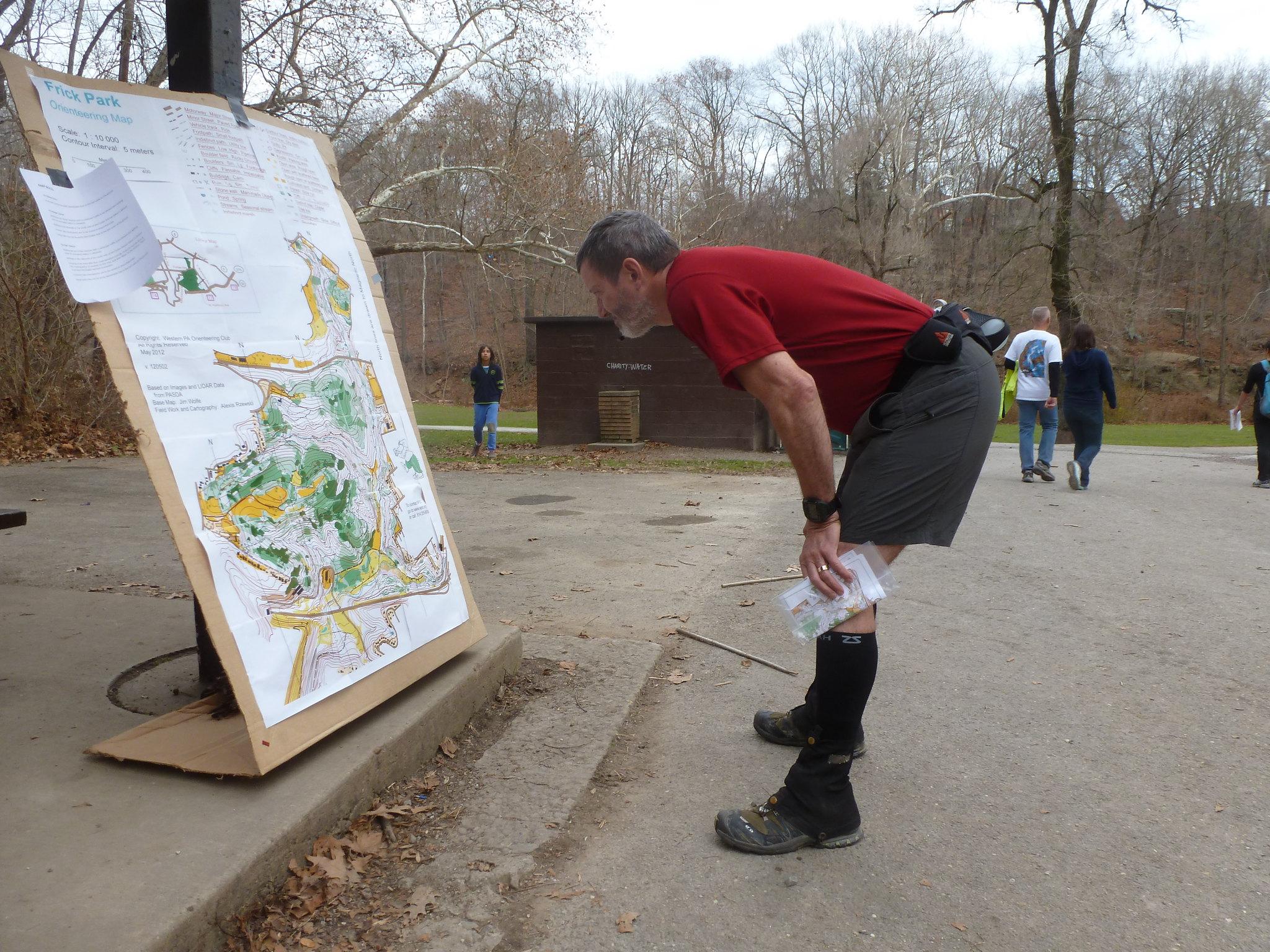 WPOC Orienteering Frick Park 2012