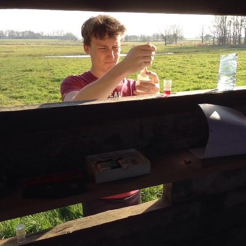 Leerlingen op onderzoek in Molenbeekvallei