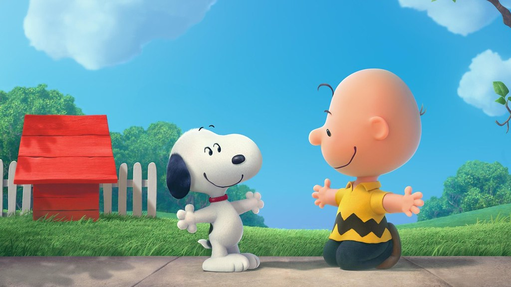 Snoopy And Charlie Brown The Peanuts Cartoon Hd Wallpaper