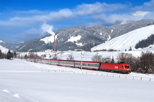 austria österreich nikon trains hochfilzen osterreich trainspotting intercity ferrovia treni ferrovie obb rh1116 nikond5000 giselabahn rh1116037 rh1116obb