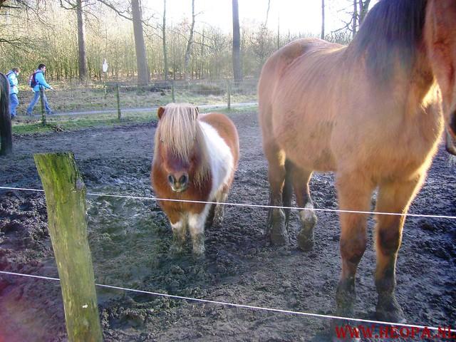 W.S.V.de Trekvogels 09-02-2008 15 Km  Apeldoorn (26)