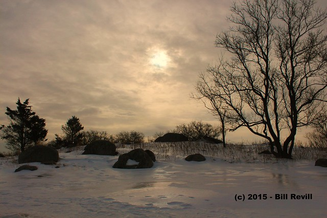 2015-2-14 Hammonasset winter morn