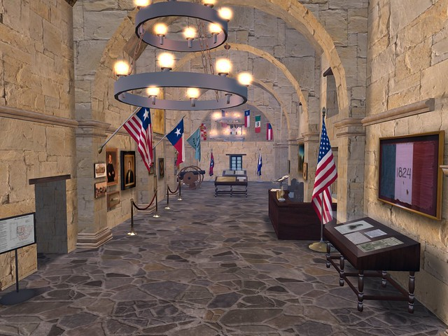 The Alamo - Hall of Flags