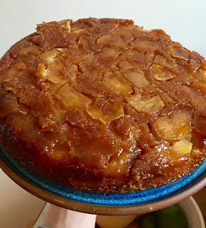 David Lebovitz's caramel upside down apple cake | by elenijr