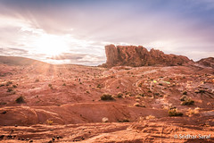 Fire Wave Trail, Valley of Fire State Park, Nevada (USA) - June 2016