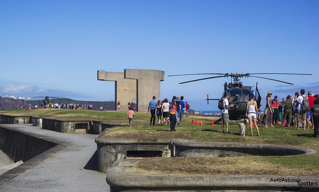Helicopteros en el Cerro
