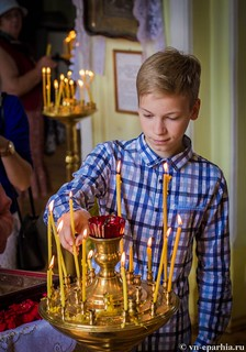Литургия в Ильинском соборе 455