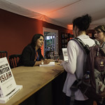 Sara Khan Book Signing   One of Woman's Hour Top Ten Influencers of 2015 signs copies of her book, The Battle for British Islam © Robin Mair