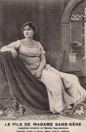 Hesperia in Il figlio di Madame Sans-Gêne (1921)