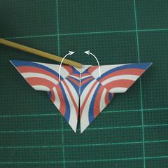 การพับกระดาษเป็นผีเสื้อแบบง่ายๆ (Easy Origami Butterfly) 010