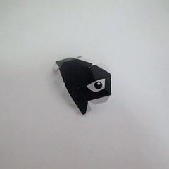 วิธีทำของเล่นโมเดลกระดาษ วูฟเวอรีน (Chibi Wolverine Papercraft Model) 003