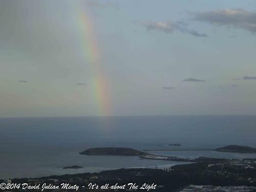 sea sky cloud rainbow australia newsouthwales lightpatterns korora